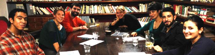 hostwriter-meeting in Beirut