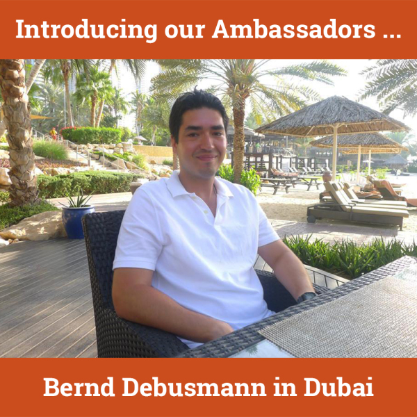 Our first hostwriter in the UAE