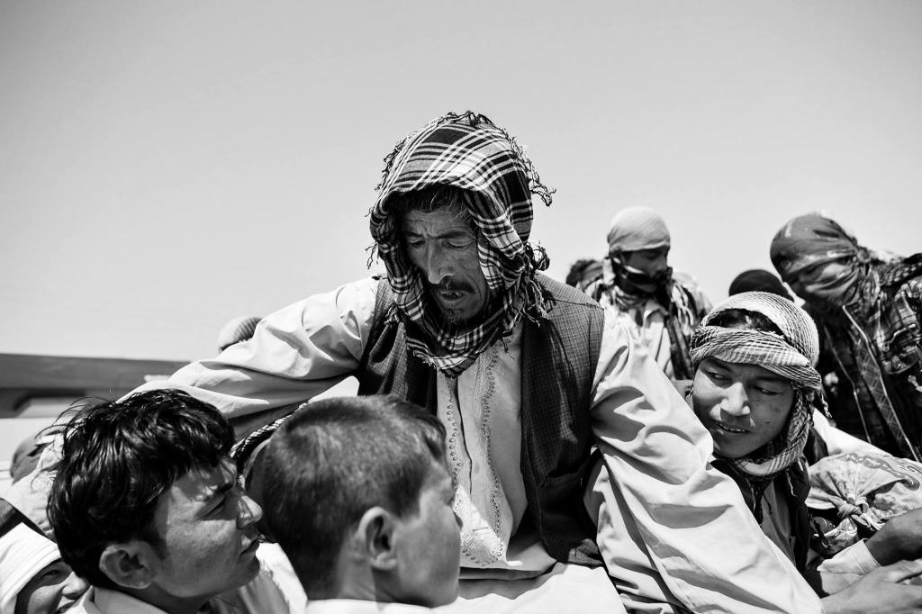 From the Afghan border province of Nimroz – also called 'little Colombia' - heroin is smuggled into Pakistan and Iran. Drug lords control politics and you can just buy heroin in the local bazar