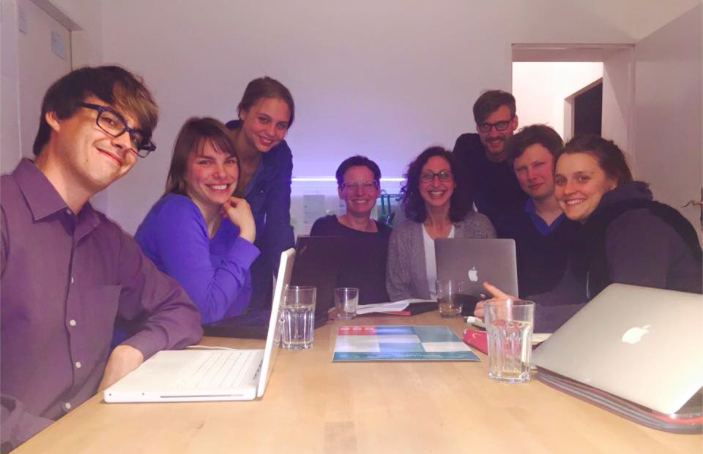 Part of the inPerspective team in Berlin