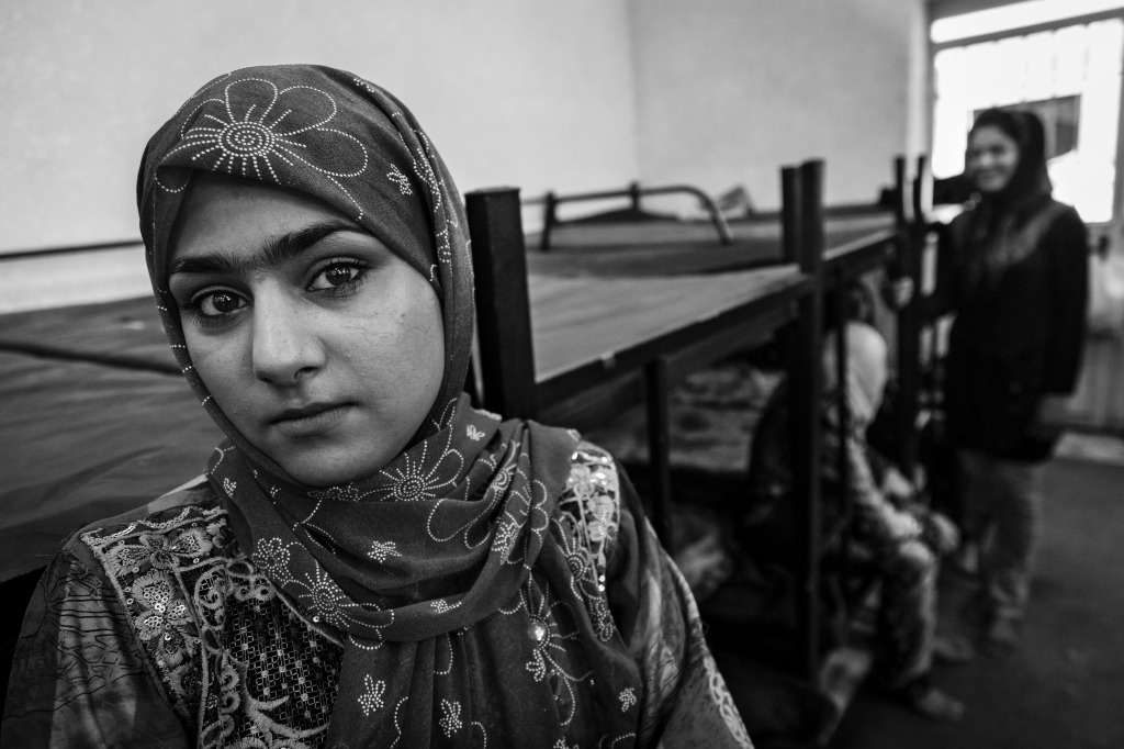Afsanah, 18 years old, became addicted to opium working at a cucumber plantation. Many of her colleagues smoke to endure the workload.