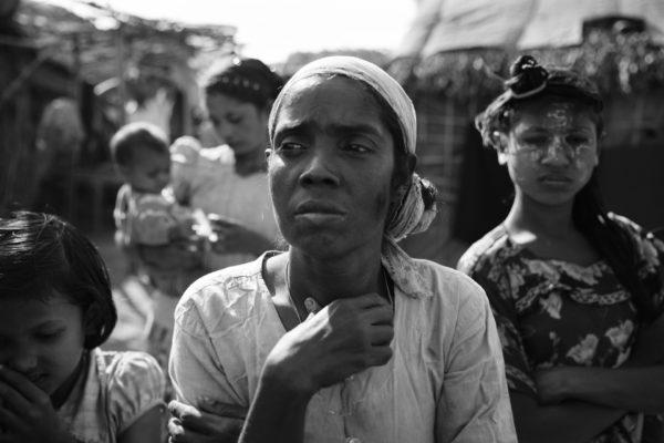 Dar Paing IDP refugee camp in Sittwe, Myanmar