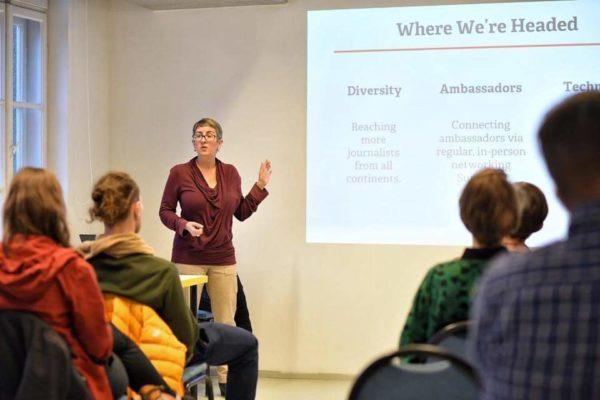 Bernadette Geyer at Outriders Summit 2019